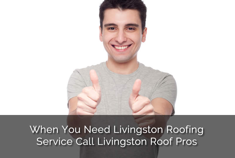 Customer Satisfaction Guaranteed at Livingston Roof Pros
