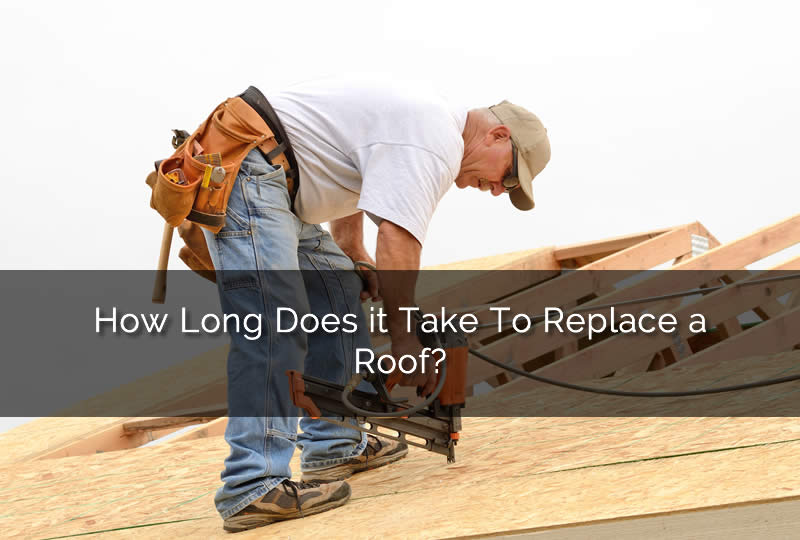 Time Frame for Replacing a Roof