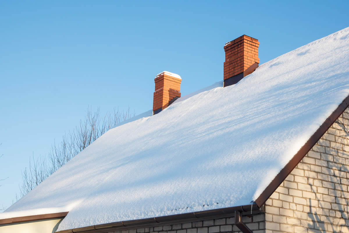 Is your roof ready for winter in livingston michigan for Roof leaking in winter