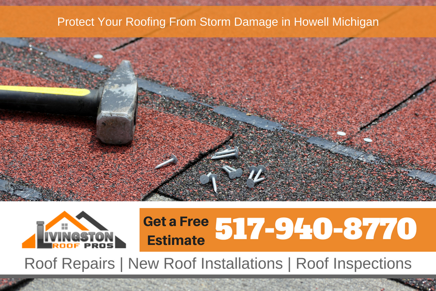Protect Your Roofing From Storm Damage in Howell Michigan