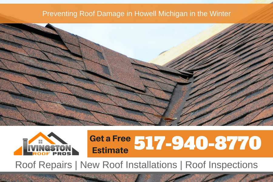 Preventing Roof Damage in Howell Michigan in the Winter