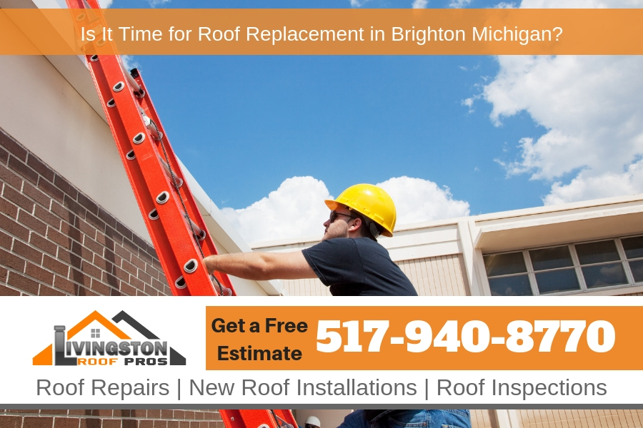 Is It Time for Roof Replacement in Brighton Michigan?