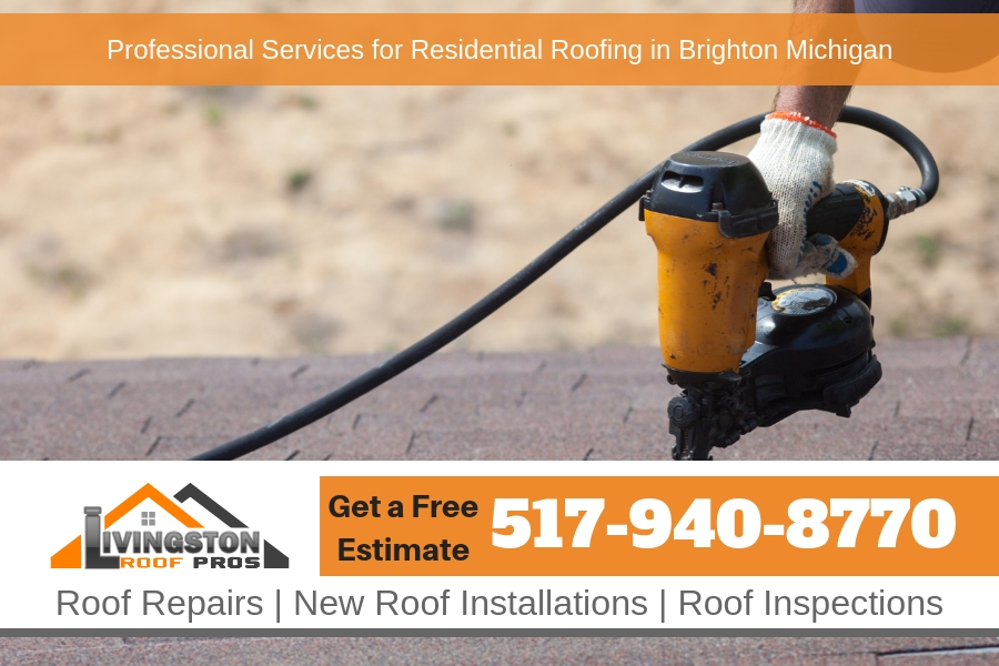 Professional Services for Residential Roofing in Brighton Michigan