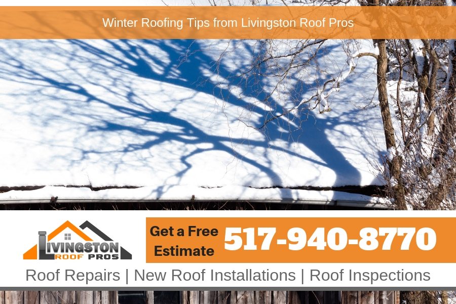 Winter Roofing Tips from Livingston Roof Pros