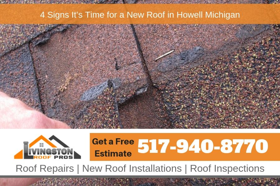4 Signs It's Time for a New Roof in Howell Michigan