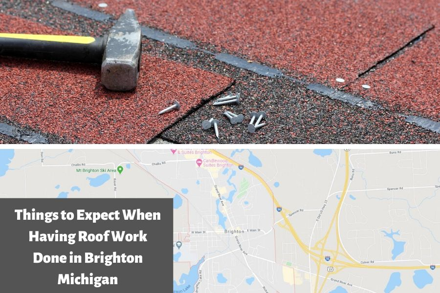Things to Expect When Having Roof Work Done in Brighton Michigan
