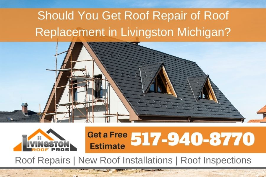 New Roof Livingston MI